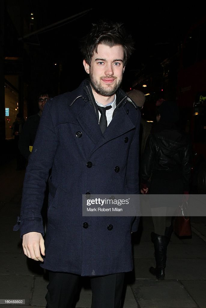 Jack Whitehall at Burberry Regent Street on January 31, 2013 in London, England.
