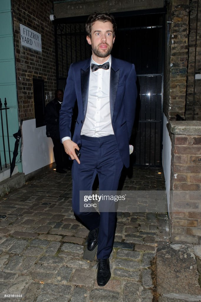 Jack Whitehall at the GQ awards afterparty in Primrose Hill on September 5, 2017 in London, England.