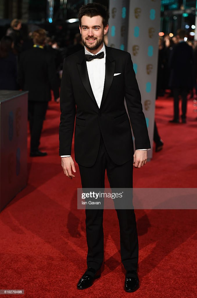 <a gi-track='captionPersonalityLinkClicked' href=/galleries/search?phrase=Jack+Whitehall&family=editorial&specificpeople=5726669 ng-click='$event.stopPropagation()'>Jack Whitehall</a> attends the EE British Academy Film Awards at the Royal Opera House on February 14, 2016 in London, England.