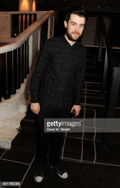 Jack Whitehall attends The Old Vic's 24 Hour Celebrity Gala after party at Rosewood London on November 24 2013 in London United Kingdom