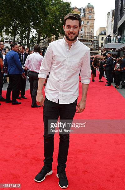 Jack Whitehall attends the World Premiere of 'The Expendables 3' at Odeon Leicester Square on August 4 2014 in London England