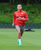 Jack Wilshere of Arsenal during a training session at London Colney on July 15 2016 in St Albans England