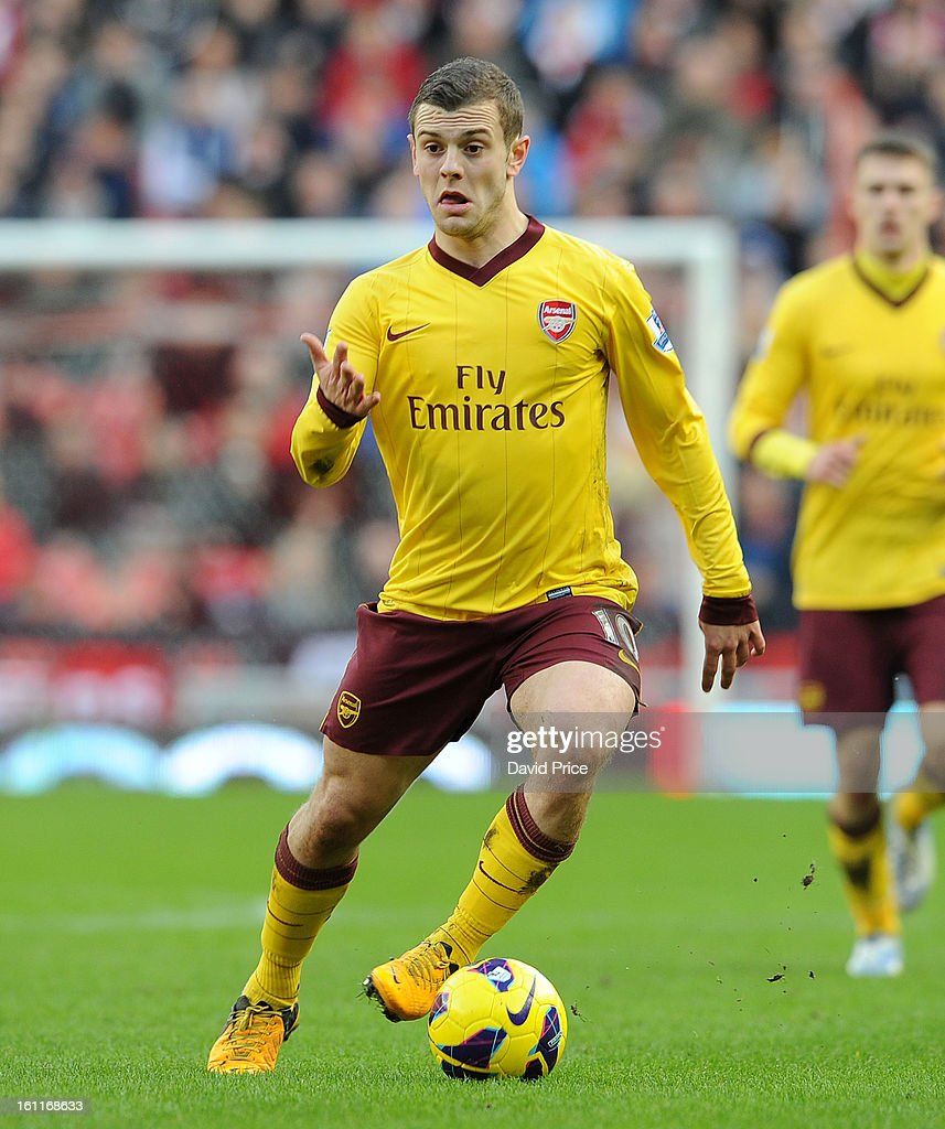 Jack Wilshere of Arsenal during the Barclays Premier League match between Sunderland and Arsenal at Stadium of Light on February 09, 2013 in Sunderland, England.
