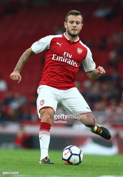 Jack Wilshere of Arsenal Under 23s during Premier League 2 match between Arsenal Under 23s against Manchester City Under 23s at Emirates Stadium...