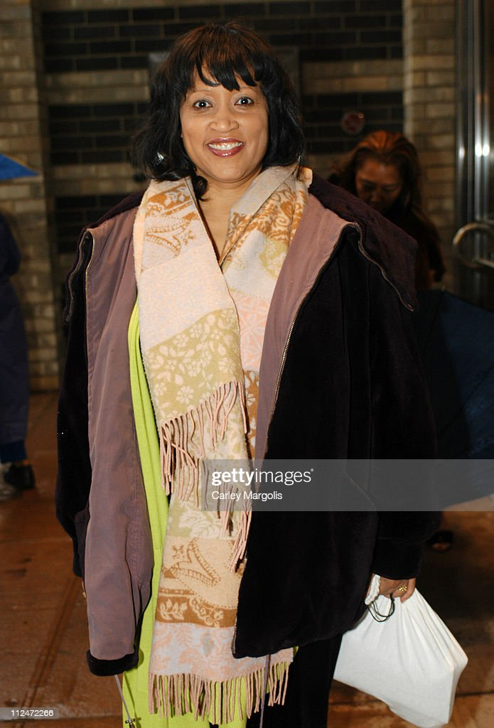 Jackee Harry during Star Jones' Wedding Guests Fill the Audience of 'The View' - Departures at ABC Studios in New York City, New York, United States.