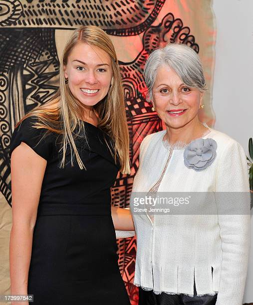 Jacki Myers and Sandra Jordan attend An Evening Of Global Inspiration and Cultural Transformation on July 18 2013 in San Francisco California