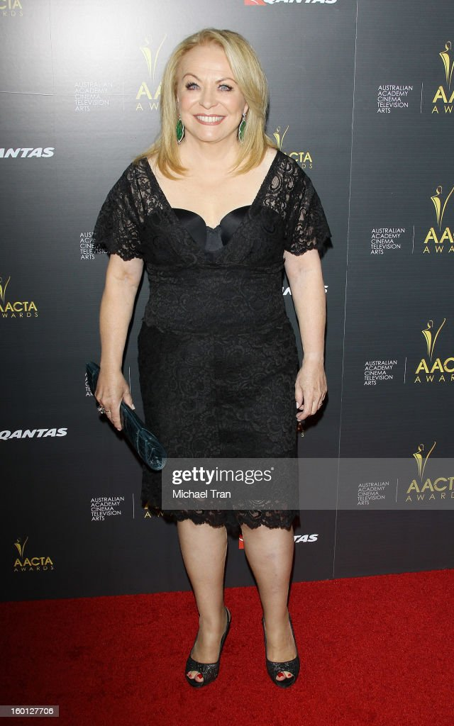 Jacki Weaver arrives at the 2nd AACTA International Awards held at Soho House on January 26, 2013 in West Hollywood, California.