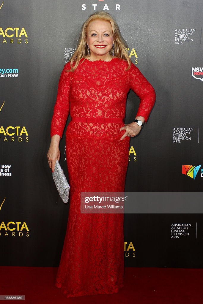 <a gi-track='captionPersonalityLinkClicked' href=/galleries/search?phrase=Jacki+Weaver&family=editorial&specificpeople=220549 ng-click='$event.stopPropagation()'>Jacki Weaver</a> arrives at the 3rd Annual AACTA Awards Ceremony at The Star on January 30, 2014 in Sydney, Australia.