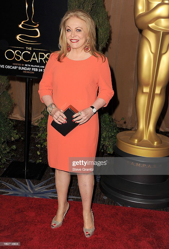 Jacki Weaver arrives at the 85th Academy Awards - Nominees Luncheon at The Beverly Hilton Hotel on February 4, 2013 in Beverly Hills, California.