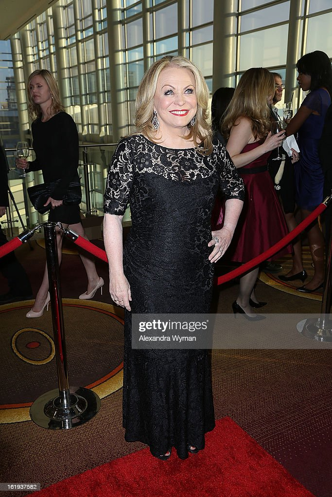 Jacki Weaver at The 2013 Writers Guild Awards Arrivals held at The JW Marriott Los Angeles at L.A. LIVE on February 17, 2013 in Los Angeles, California.