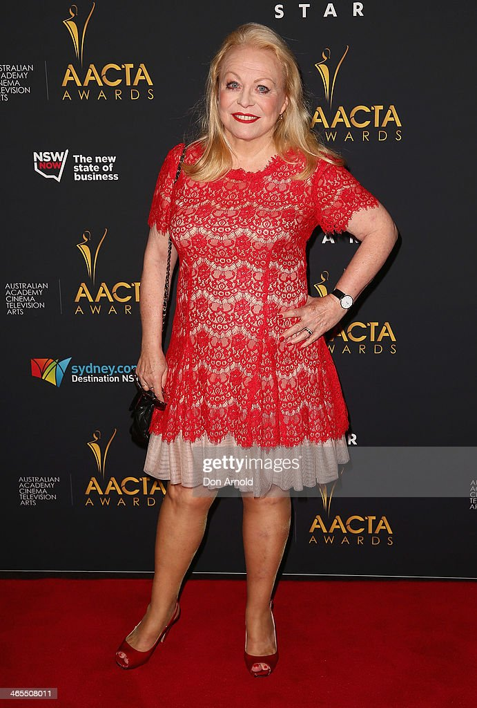 <a gi-track='captionPersonalityLinkClicked' href=/galleries/search?phrase=Jacki+Weaver&family=editorial&specificpeople=220549 ng-click='$event.stopPropagation()'>Jacki Weaver</a> attends the 3rd Annual AACTA Awards Luncheon at The Star on January 28, 2014 in Sydney, Australia.