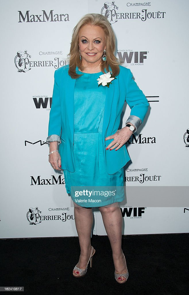 Jacki Weaver attends the 6th Annual Women In Film Pre-Oscar Party hosted by Perrier Jouet, MAC Cosmetics and MaxMara at Fig & Olive Melrose Place on February 22, 2013 in West Hollywood, California.