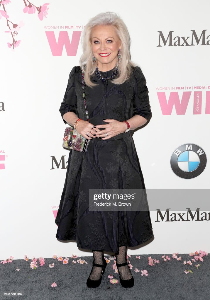 Jacki Weaver, wearing Max Mara, attends the Women In Film 2017 Crystal + Lucy Awards presented By Max Mara and BMW at The Beverly Hilton Hotel on June 13, 2017 in Beverly Hills, California.