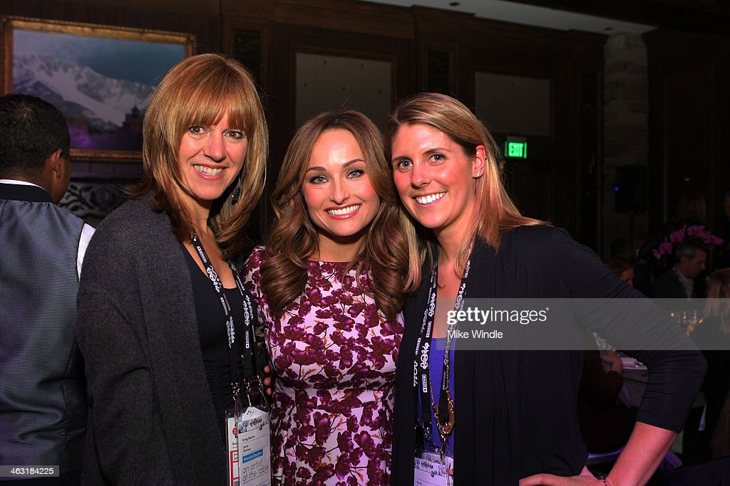 Jacki Zehner and Celebrity chef Giada De Laurentiis attend An Artist at the Table: Dinner Program during the 2014 Sundance Film Festival at Stein Eriksen Lodge on January 16, 2014 in Park City, Utah.