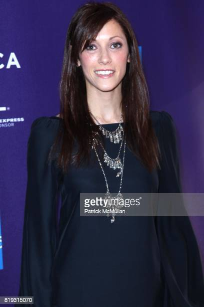 Jackie Bauer attends TRIBECA FILM FESTIVAL Presents VIDAL SASOON THE MOVIE at SVA Theatre on April 23 2010 in New York City