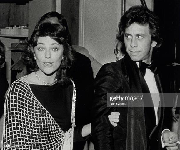 Jackie Bisset and Victor Drai during Los Angeles Benefit January 1 1978 in Los Angeles California United States