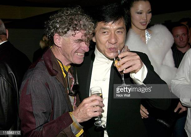 Jackie Chan and Guest during 2005 Cannes Film Festival Empire Party in Cannes France
