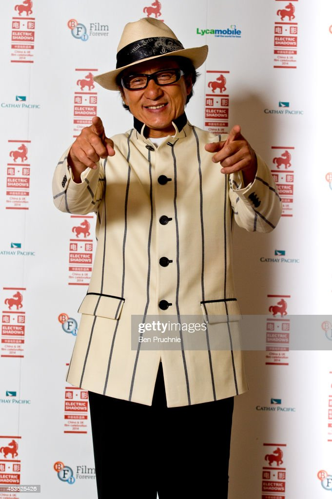 Jackie Chan attends a photocall to introduce a special screening of 'Chinese Zodiac' at BFI Southbank on August 12, 2014 in London, England.