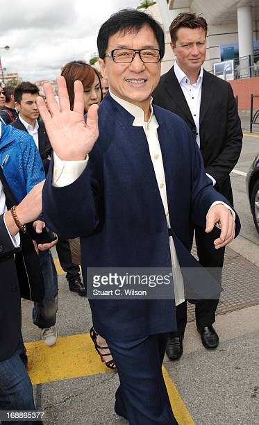 Jackie Chan attends The 66th Annual Cannes Film Festival on May 16 2013 in Cannes France