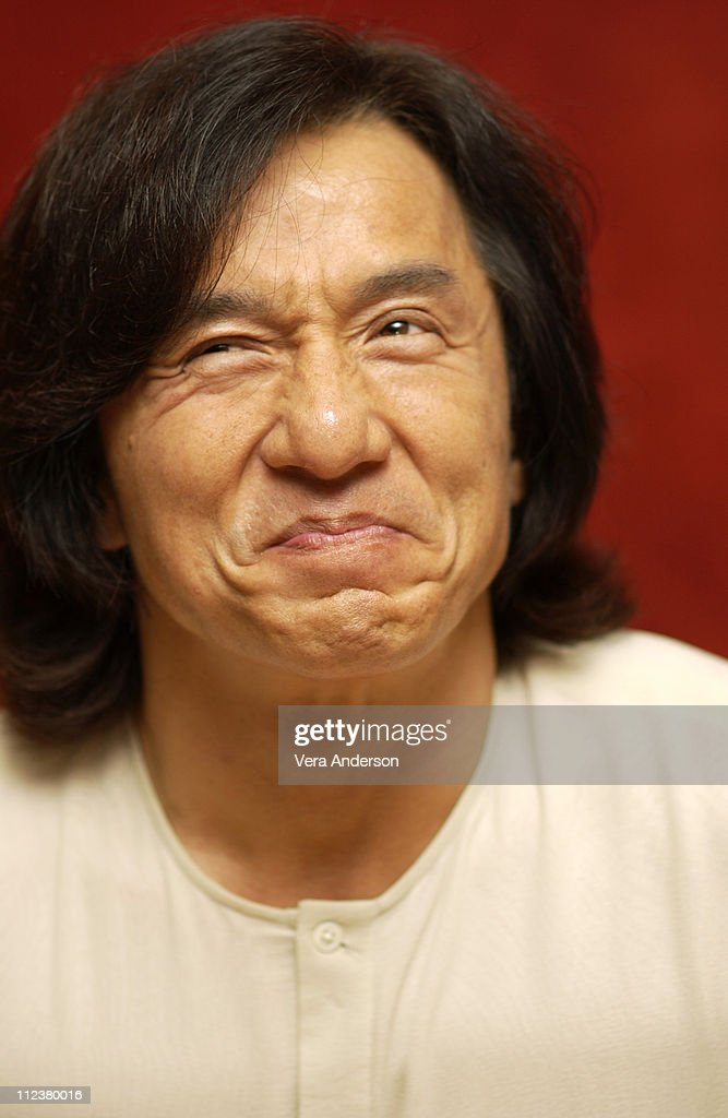 Jackie Chan during 'The Tuxedo' Press Conference with Jennifer Love-Hewitt and Jackie Chan at Century Plaza Hotel in Century City, California, United States.