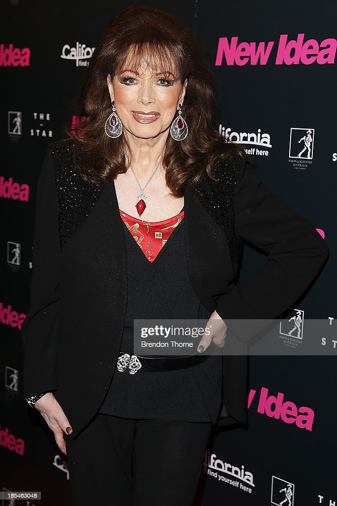 <a gi-track='captionPersonalityLinkClicked' href=/galleries/search?phrase=Jackie+Collins&family=editorial&specificpeople=123843 ng-click='$event.stopPropagation()'>Jackie Collins</a> arrives at a cocktail event to celebrate the launch of her new book, 'Confessions of a Wild Child' on October 21, 2013 in Sydney, Australia.