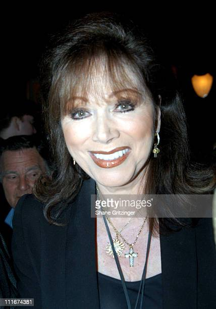 Jackie Collins during 'Everyone Comes To Elaine's' Book Launch Party at Elaine's in New York City New York United States