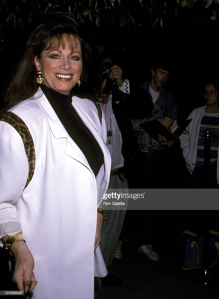 <a gi-track='captionPersonalityLinkClicked' href=/galleries/search?phrase=Jackie+Collins&family=editorial&specificpeople=123843 ng-click='$event.stopPropagation()'>Jackie Collins</a> during Norris Church Art Exhibition - March 22, 1989 at Madison Galleries in Hollywood, California, United States.