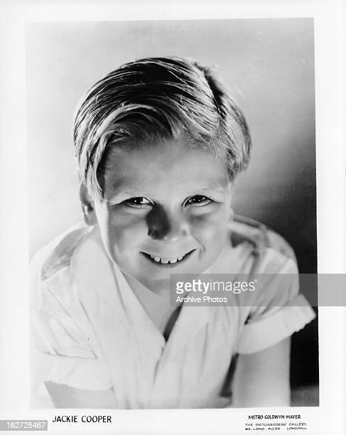 Jackie Cooper publicity portrait for the film 'The Champ' 1931