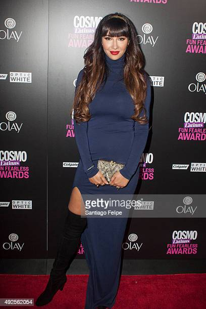 Jackie Cruz attends '2015 Fun Fearless Latina Awards' at Hearst Tower on October 13 2015 in New York City