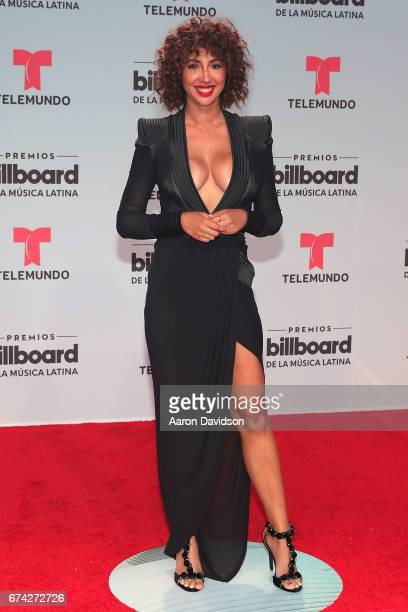 Jackie Cruz attends Billboard Latin Music Awards Arrivals at Watsco Center on April 27 2017 in Coral Gables Florida