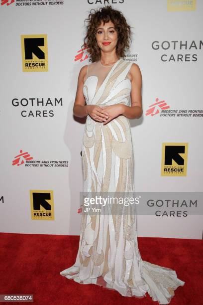 Jackie Cruz attends Gotham Cares Gala Fundraiser For The Syrian Refugee Crisis In Support of Medecin Sans Frontieres and The International Rescue...