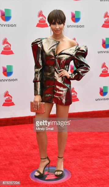 Jackie Cruz attends the 18th Annual Latin Grammy Awards at MGM Grand Garden Arena on November 16 2017 in Las Vegas Nevada