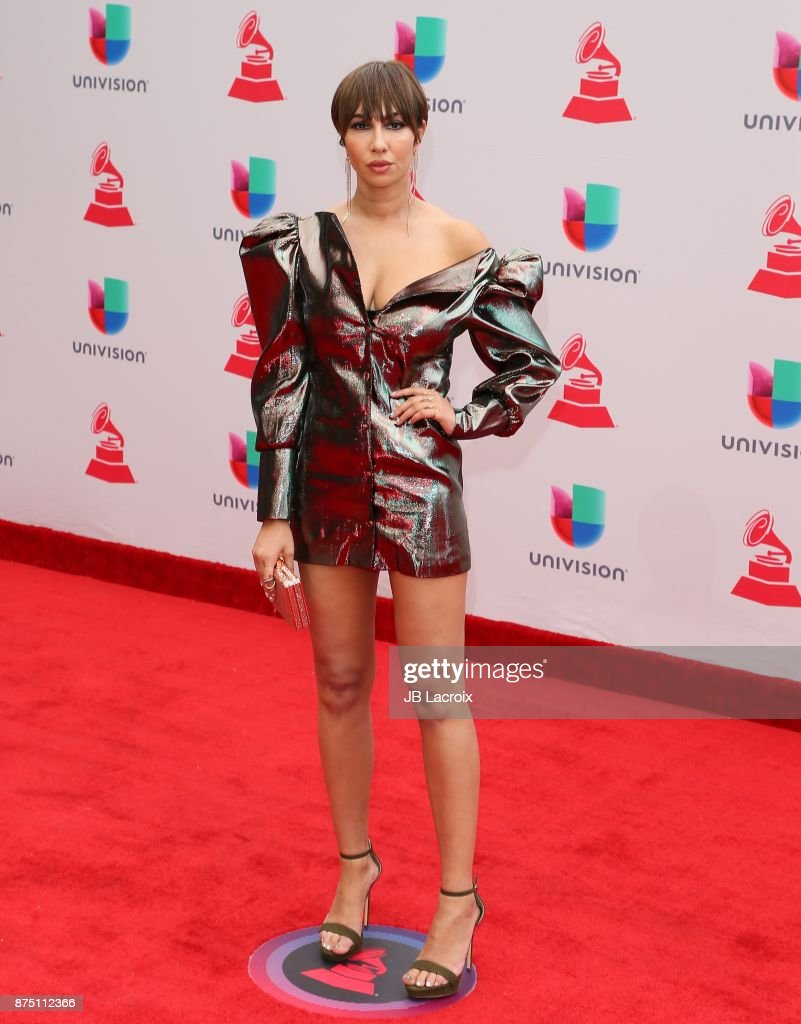 Jackie Cruz attends the 18th Annual Latin Grammy Awards on November 16, 2017 in Las Vegas, Nevada.