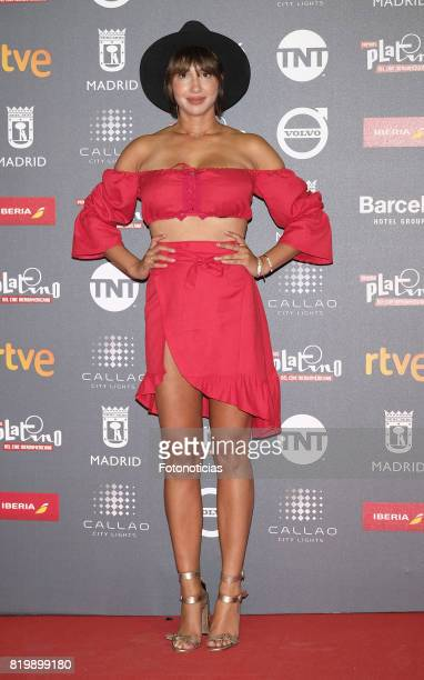 Jackie Cruz attends the 2017 Platino Awards Welcome Party at Callao Cinema on July 20 2017 in Madrid Spain