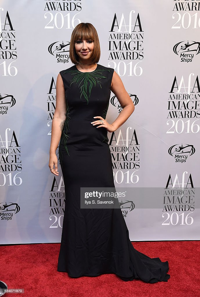 <a gi-track='captionPersonalityLinkClicked' href=/galleries/search?phrase=Jackie+Cruz&family=editorial&specificpeople=7483698 ng-click='$event.stopPropagation()'>Jackie Cruz</a> attends the American Apparel & Footwear Association's 38th Annual American Image Awards 2016 on May 24, 2016 in New York City. (Photo by Ilya S. Savenok/Getty Images for American Apparel & Footwear Association (AAFA))