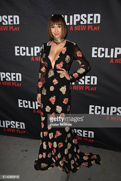 Jackie Cruz attends the Broadway opening night performance of 'Eclipsed' at Golden Theatre on March 6 2016 in New York City
