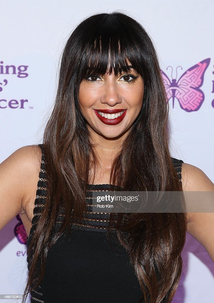 <a gi-track='captionPersonalityLinkClicked' href=/galleries/search?phrase=Jackie+Cruz&family=editorial&specificpeople=7483698 ng-click='$event.stopPropagation()'>Jackie Cruz</a> attends the fifth annual Solving Kids' Cancer Spring Celebration at 583 Park Avenue on May 7, 2014 in New York City.