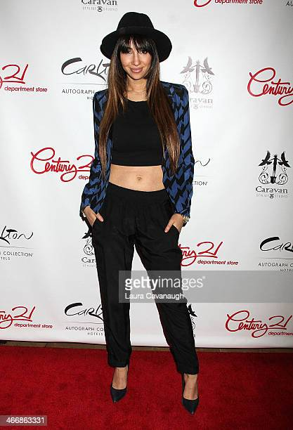 Jackie Cruz attends the 'I Love NY' Project to save the Garment District event at Carlton Hotel on February 4 2014 in New York City