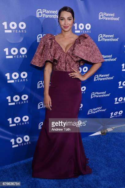 Jackie Cruz attends the Planned Parenthood 100th Anniversary Gala at Pier 36 on May 2 2017 in New York City