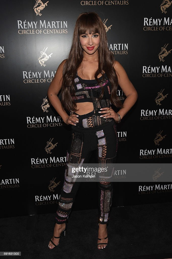 Jackie Cruz attends the Remy Martin launch of The 2016 Circle Of Centaurs with Jackie Cruz at The Bowery Hotel on August 17 2016 in New York City