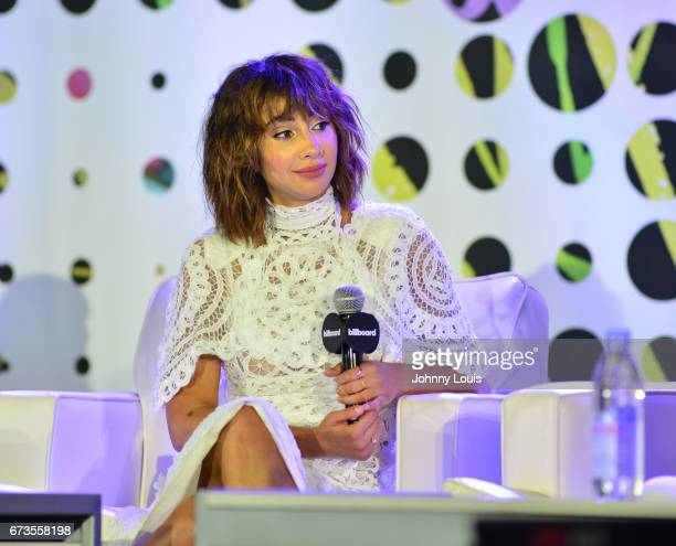 Jackie Cruz during The Billboard Latin Music Conference Awards LATINX Activisim panel at Ritz Carlton South Beach on April 26 2017 in Miami Beach...