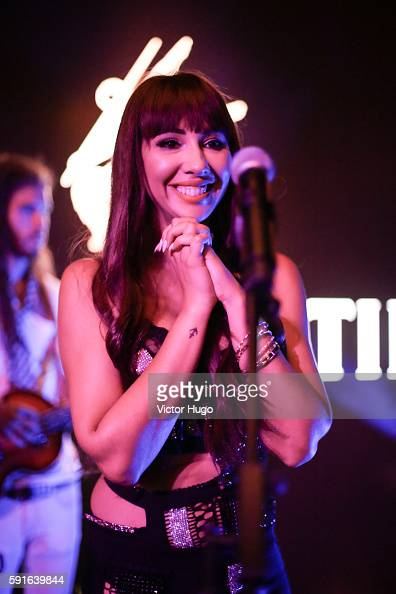 Jackie Cruz performs at the Remy Martin Launch 2016 Circle of Centaurs in The Bowery Hotel on August 17 2016 in New York City