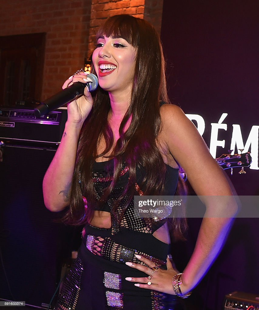 Jackie Cruz performs during the Remy Martin's 2016 Circle Of Centaurs Event at The Bowery Hotel on August 17 2016 in New York City