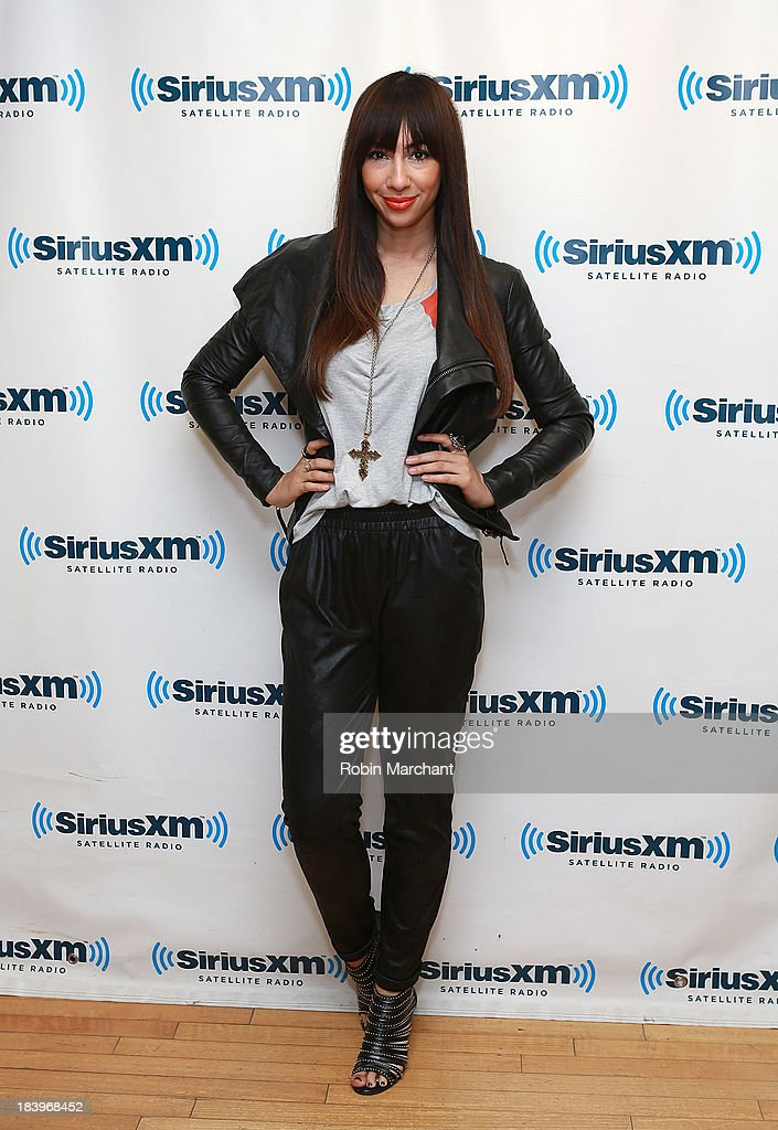 Jackie Cruz visits at SiriusXM Studios on October 10, 2013 in New York City.