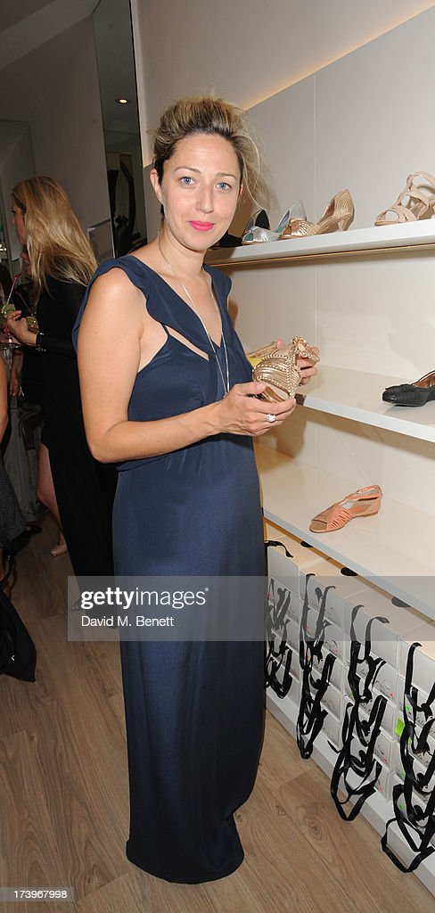 Jackie Dixon attends Swiss luxury shoe brand Lele Pyp VIP London store launch party on July 18, 2013 in London, England.
