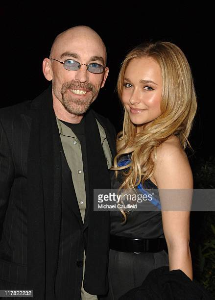 Jackie Earle Haley and Hayden Panettiere at the Entertainment Weekly PreOscar Party 2007 *EXCLUSIVE*