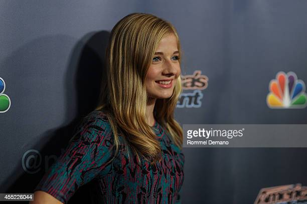 Jackie Evancho attends 'America's Got Talent' season 9 post show red carpet event at Radio City Music Hall on September 10 2014 in New York City