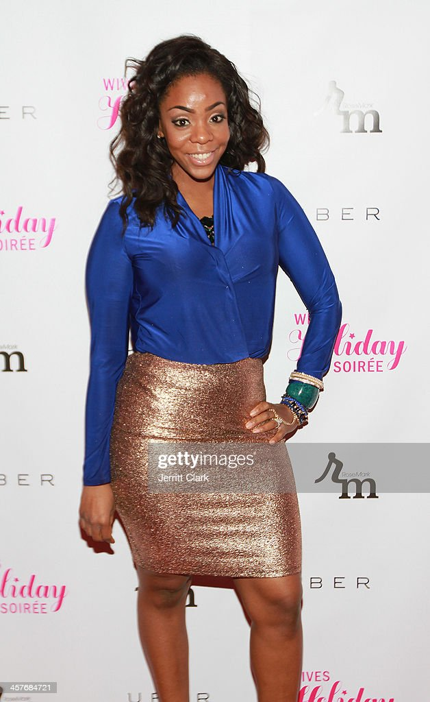 Jackie Fletcher attends the NBA & NFL Wives Holiday Cocktail Mixer at Pranna Restaurant on December 17, 2013 in New York City.