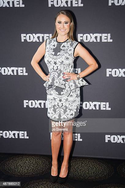 Jackie Gillies at the Real Housewives of Melbourne Season 3 cast announcement at Left Bank on September 11 2015 in Melbourne Australia