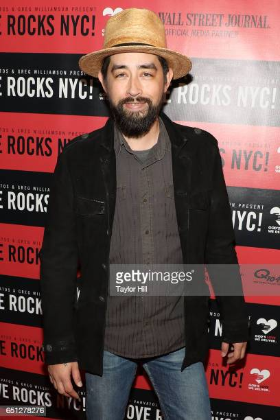 Jackie Greene attends 'Love Rocks NYC A Change is Gonna Come Celebrating Songs of Peace Love and Hope a Benefit Concert for God's Love We Deliver' at...
